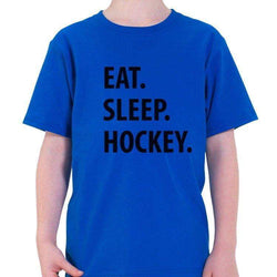 Eat Sleep Hockey T-Shirt Kids