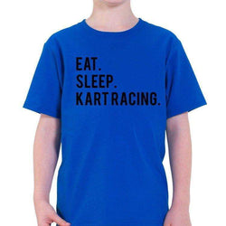 Eat Sleep Kart Racing T-Shirt Kids