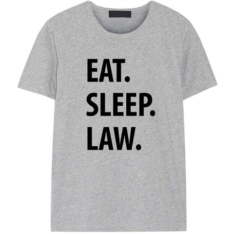 Eat Sleep Law T-Shirt-WaryaTshirts