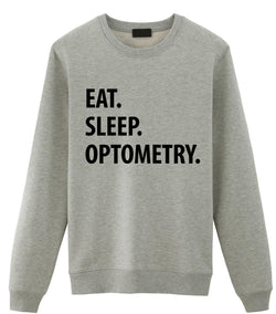 Eat Sleep Optometry Sweater