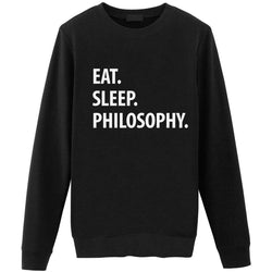 Eat Sleep Philosophy Sweater