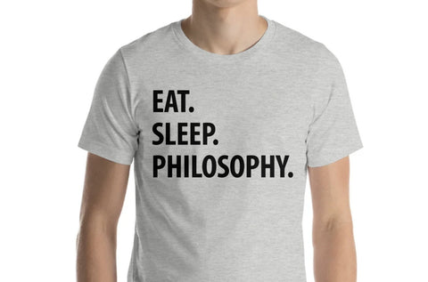 Eat Sleep Philosophy T-Shirt-WaryaTshirts
