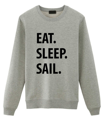 Eat Sleep Sail Sweater-WaryaTshirts