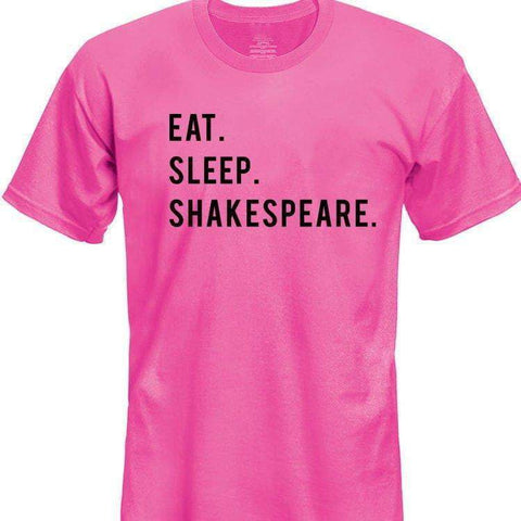 Eat Sleep Shakespeare T-Shirt Kids-WaryaTshirts