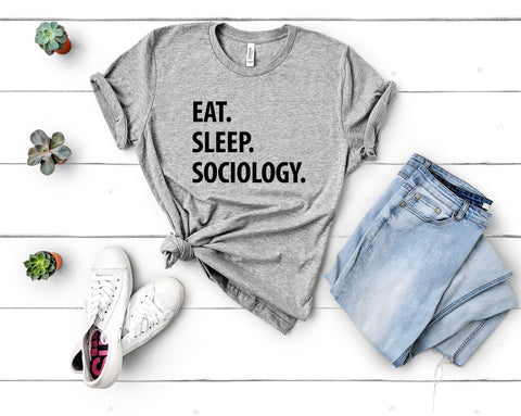 Eat Sleep Sociology T-Shirt-WaryaTshirts