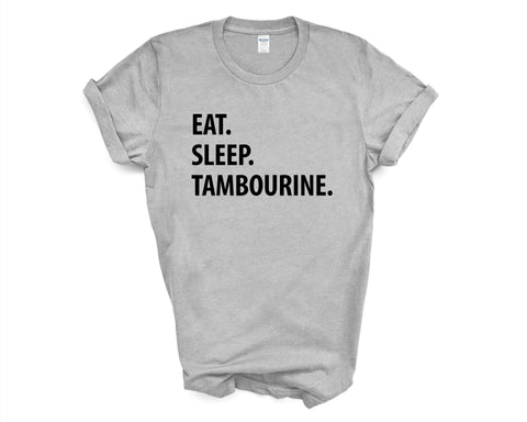 Eat Sleep Tambourine T-Shirt-WaryaTshirts