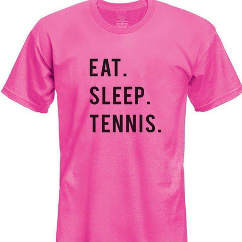 Eat Sleep Tennis T-Shirt Kids-WaryaTshirts