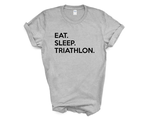 Eat Sleep Triathlon T-Shirt-WaryaTshirts