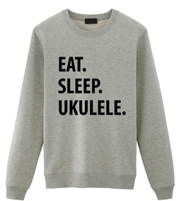 Eat Sleep Ukulele Sweater