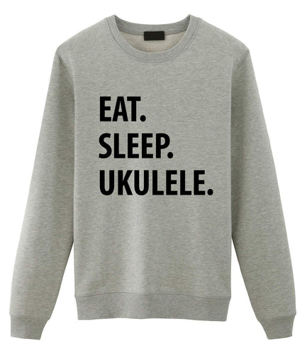 Eat Sleep Ukulele Sweater-WaryaTshirts