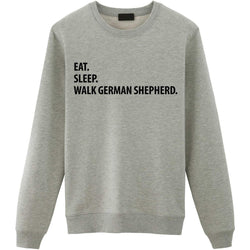 Eat Sleep Walk German Shepherd Sweater
