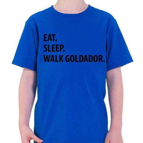 Eat Sleep Walk Goldador T-Shirt-WaryaTshirts