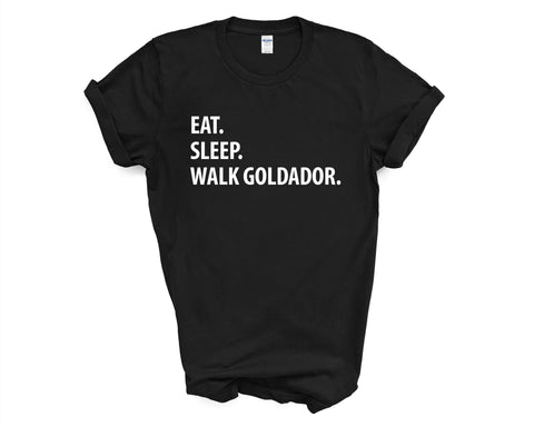 Eat Sleep Walk Goldador T-Shirt