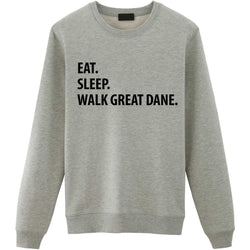 Eat Sleep Walk Great Dane Sweater