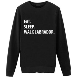 Eat Sleep Walk Labrador Sweater