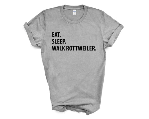 Eat Sleep Walk Rottweiler T-Shirt-WaryaTshirts
