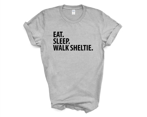 Eat Sleep Walk Sheltie T-Shirt-WaryaTshirts