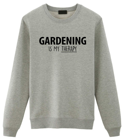 Gardening Is My Therapy Sweater Mens Womens-WaryaTshirts