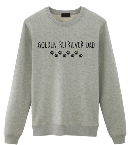 Golden Retriever Sweater, Golden Retriever Dad Sweatshirt Gift Mens Sweater - 2328-WaryaTshirts
