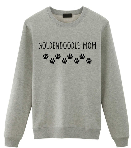 Goldendoodle Mom Sweater, Golden doodle Lover Gift Womens Sweatshirt-WaryaTshirts