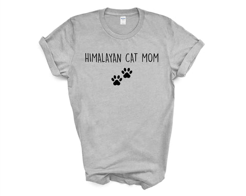 Himalayan Cat TShirt, Himalayan Cat Mom, Himalayan Cat Lover Gift shirt Womens - 2403-WaryaTshirts