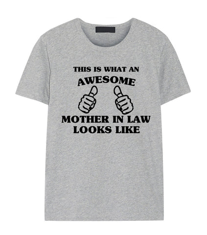 Mother in Law shirt, Mother in Law Gift, Awesome Mother in Law t shirt-WaryaTshirts