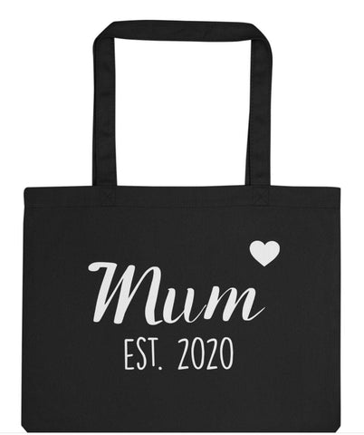 New Mum Gift Mum tote bag Mum to be Personalised Mum Gift Tote Bag | Long Handle Bags - 2936-WaryaTshirts