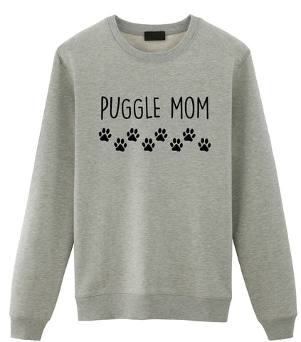 Puggle Mom Sweater, Puggle Mom Sweatshirt Womens Gift - 2174-WaryaTshirts