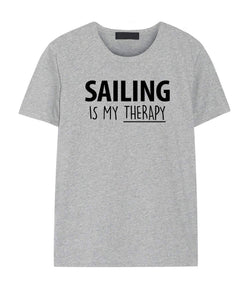 Sailing Is My Therapy T-Shirt
