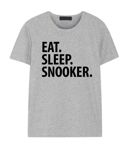 Snooker T-Shirt, Eat Sleep Snooker Shirt Mens Womens Gifts-WaryaTshirts