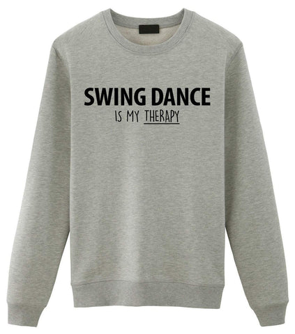 Swing Dance Is My Therapy Sweater-WaryaTshirts