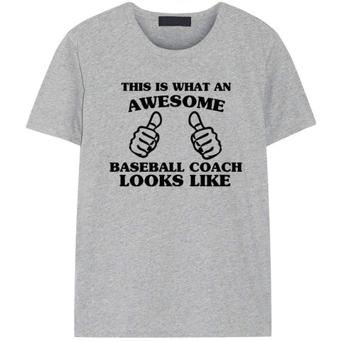 This is What An Awesome Baseball Coach Looks Like T-Shirt