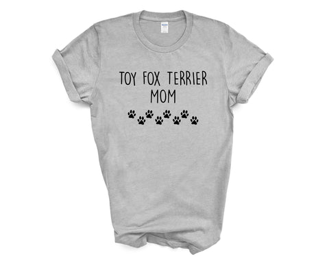 Toy Fox Terrier T-Shirt, Toy Fox Terrier Mom Shirt Womens Gifts - 2370-WaryaTshirts