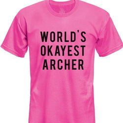 World's Okayest Archer T-Shirt Kids