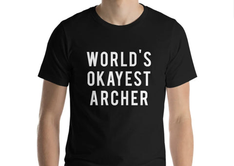 World's Okayest Archer T-Shirt