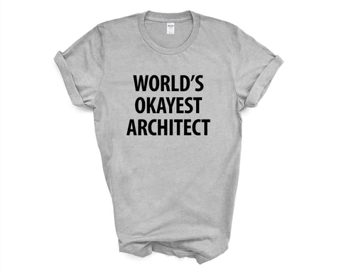 World's Okayest Architect T-Shirt