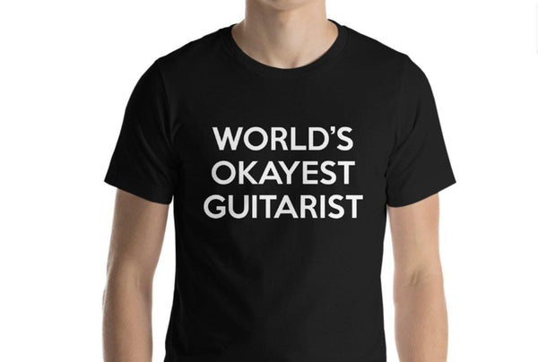 World's Okayest Guitarist T-Shirt-WaryaTshirts