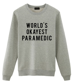 World's Okayest Paramedic Sweater