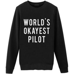 World's Okayest Pilot Sweater