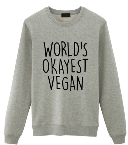 World's Okayest Vegan Sweater