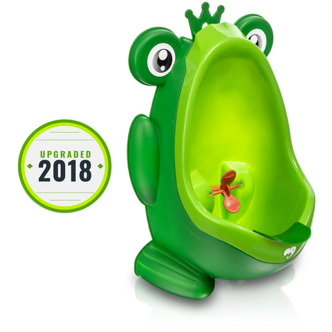 Cute Frog Urinal for Boys Ages 1-6