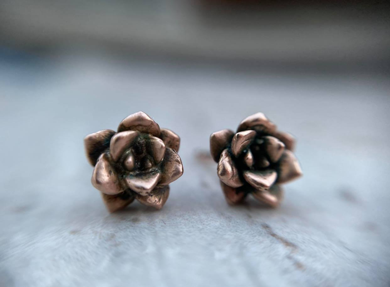 Succulent Earrings - Magick Alchemy