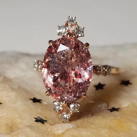 Ophelia Fire Quartz Ring - Magick Alchemy