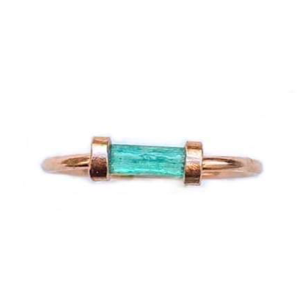 Emerald Satellite Ring