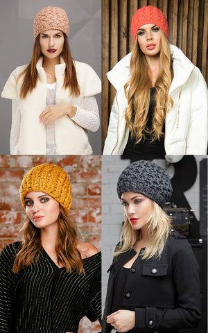 Top 3 Fall Winter 2017 2018 Knitted Hats Trends Twigtone