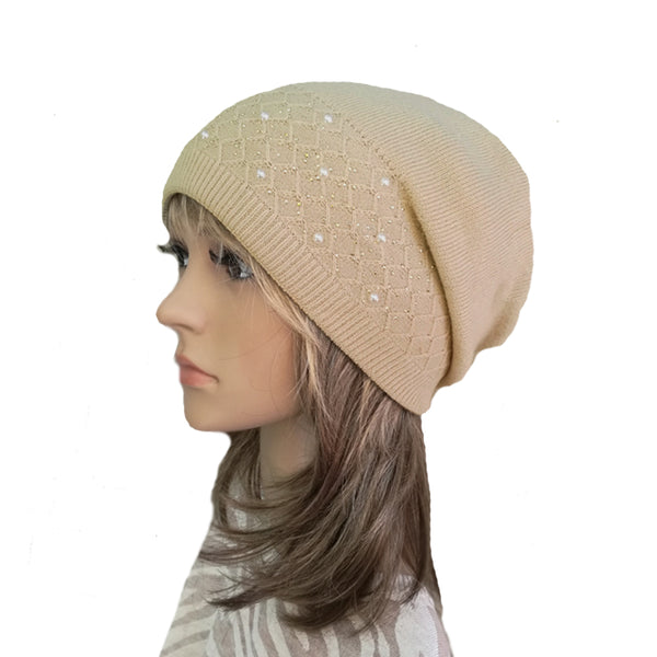 52bf22eb0c3b8 Wholesale Women s Slouchy Beanie Boho Style - Winter Wool Slouch Hat ...