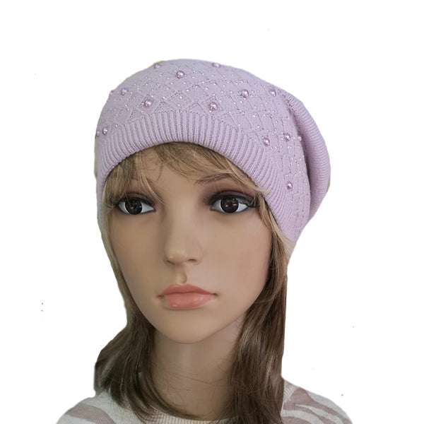 Wholesale Lilac Women's Slouchy Beanie