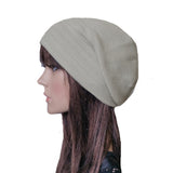 Wholesale Gray Casual womens slouch beanie cap