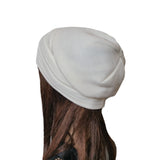 Wholesale White Casual womens slouch beanie