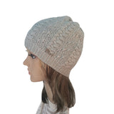 Wholesale Light Gray  Knit Wool Slouchy Hat Street Style